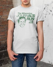 The Milwaukee Journals Run For Kids T Shirt Classic T-Shirt apparel-classic-tshirt-lifestyle-31