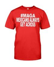 maga mexicans always get across shirt Premium Fit Mens Tee thumbnail