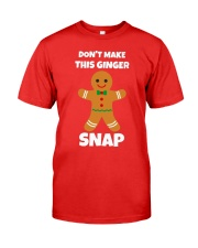 Dont Make This Ginger Snap Shirt Premium Fit Mens Tee tile