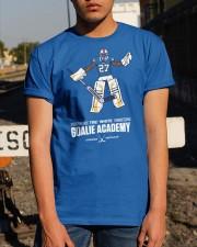 Tre White Goalie Academy T Shirt Classic T-Shirt apparel-classic-tshirt-lifestyle-29