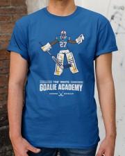 Tre White Goalie Academy T Shirt Classic T-Shirt apparel-classic-tshirt-lifestyle-30
