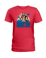 beverly hills 90210 shirt Ladies T-Shirt thumbnail