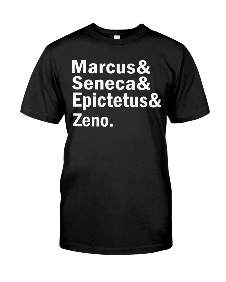 Marcus Seneca  Epictetus zeno shirt Classic T-Shirt