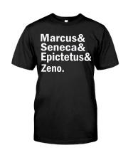 Marcus Seneca  Epictetus zeno shirt Classic T-Shirt front