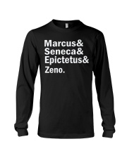 Marcus Seneca  Epictetus zeno shirt Long Sleeve Tee thumbnail