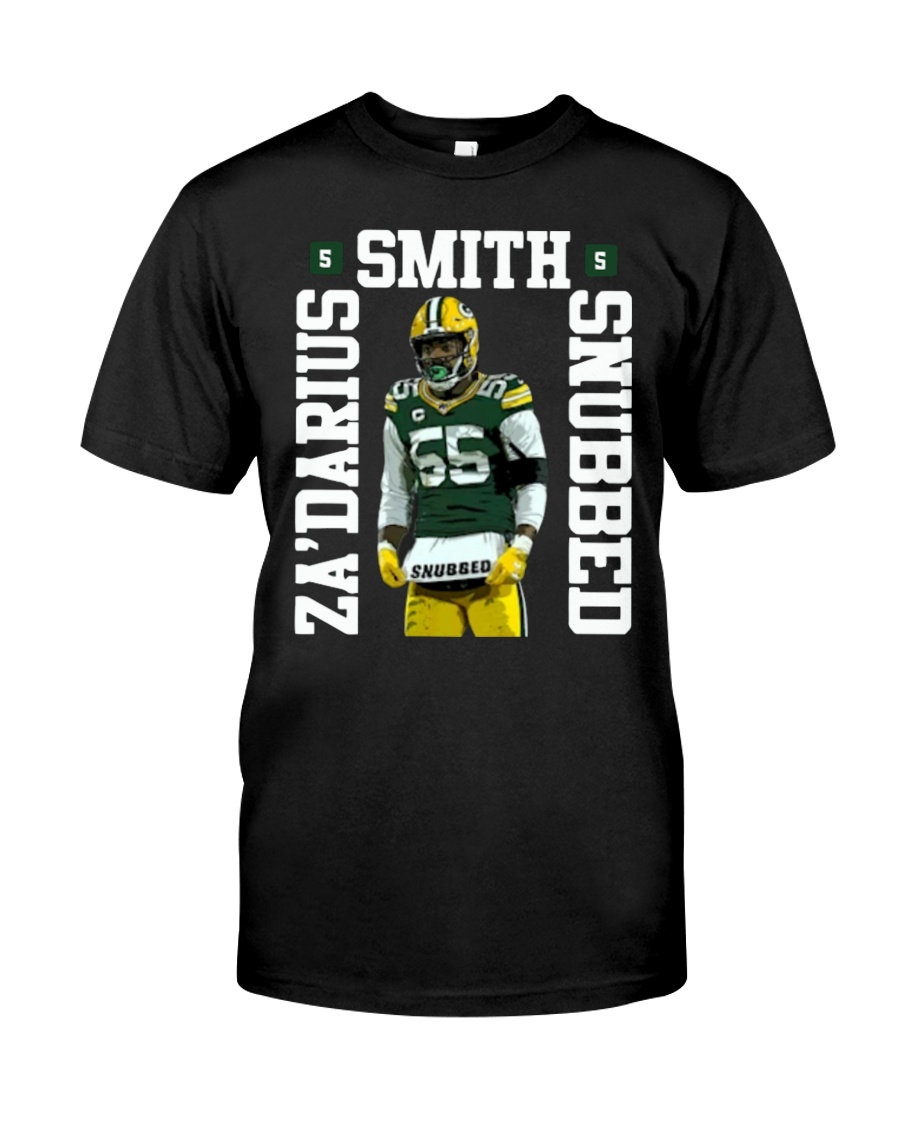Zadarius Smith Snubbed Packers T Shirt Classic T-Shirt