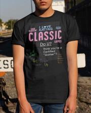 I love eating classic games shirt Classic T-Shirt apparel-classic-tshirt-lifestyle-29