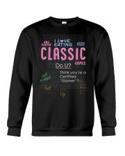 I love eating classic games shirt Crewneck Sweatshirt thumbnail