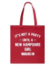 NEW HAMPSHIRE GIRL Tote Bag thumbnail