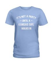 KANSAS GIRL Ladies T-Shirt front