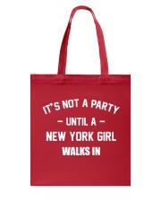 NEW YORK GIRL Tote Bag thumbnail