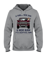 HZ326637 Hooded Sweatshirt front