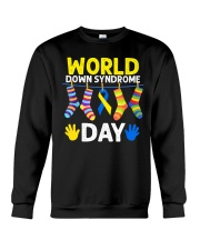 World Down Syndrome Day Crewneck Sweatshirt thumbnail
