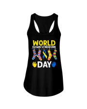 World Down Syndrome Day Ladies Flowy Tank thumbnail