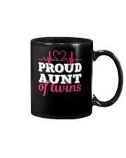 Proud Aunt of twins Mug thumbnail
