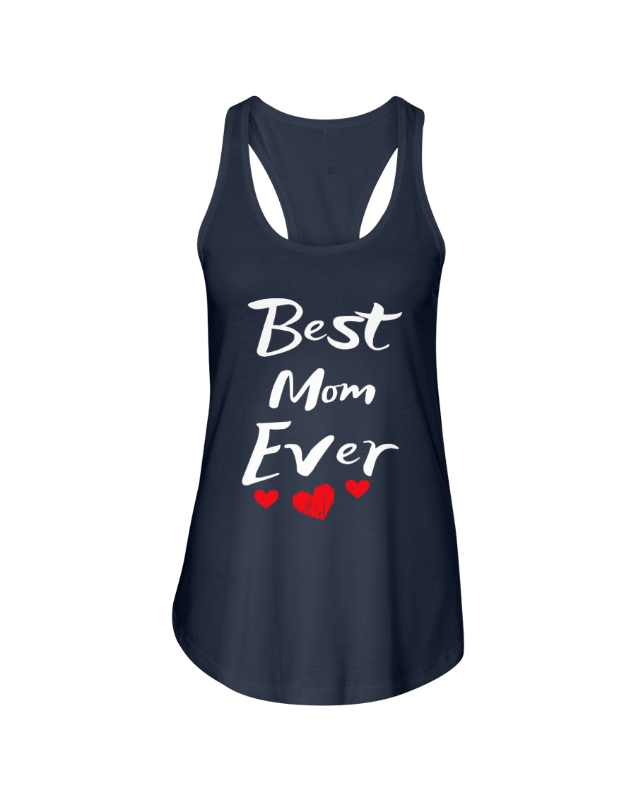 Best Mom Ever Mothers Day T-Shirt Gifts for Mom Ladies Flowy Tank