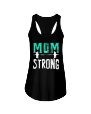 Strong Mom Ladies Flowy Tank tile