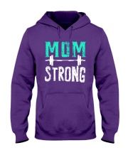 Strong Mom Hooded Sweatshirt thumbnail