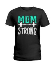 Strong Mom Ladies T-Shirt tile