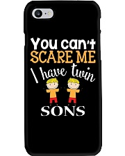 You cant scare me I have twin Sons Phone Case thumbnail