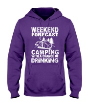 Weekend Forecast Camping With A Chance Of Drinking Hooded Sweatshirt thumbnail
