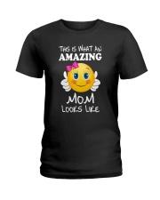 Amazing Mom Looks Like Ladies T-Shirt thumbnail