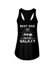 Best Dad In The Galaxy Shirt Ladies Flowy Tank thumbnail