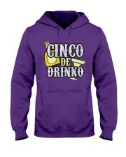 Funny Cinco de Mayo Drinko Celebration Hooded Sweatshirt thumbnail