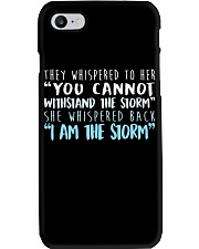 I Am The Storm Phone Case tile