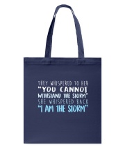 I Am The Storm Tote Bag tile