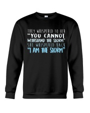 I Am The Storm Crewneck Sweatshirt thumbnail