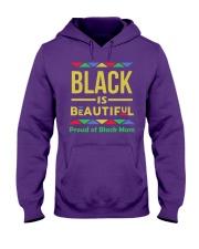 Black is Beautiful Proud of Black Mom Hooded Sweatshirt thumbnail