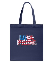 usa pride Tote Bag tile