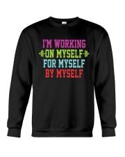 Working On Myself Crewneck Sweatshirt thumbnail