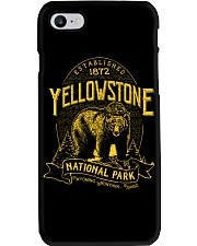 Yellowstone National Park Bear Phone Case thumbnail