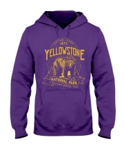 Yellowstone National Park Bear Hooded Sweatshirt thumbnail
