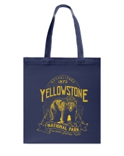 Yellowstone National Park Bear Tote Bag thumbnail