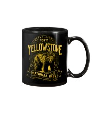Yellowstone National Park Bear Mug thumbnail