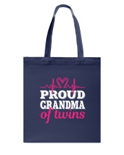 Proud Grandma of twins Tote Bag thumbnail