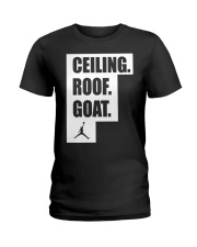 CEILING ROOF GOAT Ladies T-Shirt thumbnail