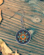 Arrows Native America Earrings Circle Earrings aos-earring-circle-front-lifestyle-4