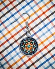 Arrows Native America Earrings Circle Earrings aos-earring-circle-front-lifestyle-9