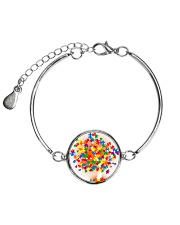Autism Tree Metallic Circle Bracelet thumbnail