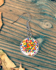 Autism Tree Circle Earrings aos-earring-circle-front-lifestyle-4