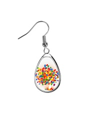 Autism Tree Teardrop Earrings thumbnail