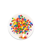 Autism Tree Circle Magnet thumbnail