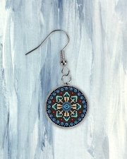 Women Native America Earrings Circle Earrings aos-earring-circle-front-lifestyle-6