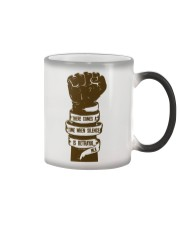 There comes a time Color Changing Mug thumbnail