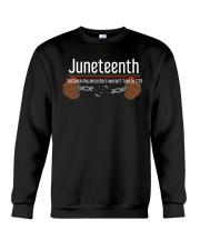 Juneteenth Crewneck Sweatshirt thumbnail