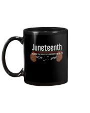 Juneteenth Mug back
